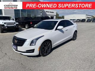 Used 2017 Cadillac ATS 2.0L Turbo Luxury for sale in Chatham, ON