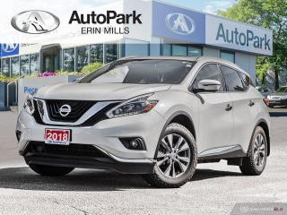 Used 2018 Nissan Murano SL AWD, NAVIGATION, PANORAMIC SUNROOF, REMOTE START, HEATED SEATS AND STEERING WHEEL for sale in Mississauga, ON