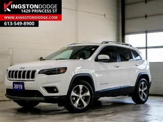 Used 2019 Jeep Cherokee Limited | 4X4 | One Owner | Tow | Tech Group | for sale in Kingston, ON