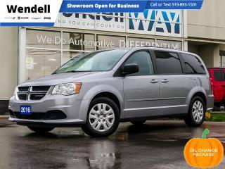 Used 2016 Dodge Grand Caravan SE/SXT SXT 1 Owner Full Stow N'Go for sale in Kitchener, ON