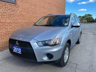 Used 2010 Mitsubishi Outlander ES/SAFETY AND WARRANTY/NO ACCIDENTS for sale in Oakville, ON