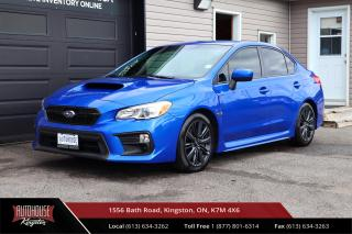 Used 2018 Subaru WRX Sport-tech BACK UP CAM - HEATED SEATS - CLEAN CARFAX for sale in Kingston, ON