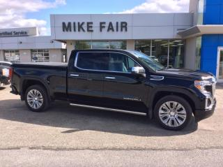 Used 2021 GMC Sierra 1500 Denali Remote Start, Bed View Camera, HD Radio, Front & Rear Park Assist, Wireless Charging for sale in Smiths Falls, ON