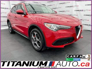 Used 2018 Alfa Romeo Stelvio 2.99% Financing - Sport+GPS+Pano Roof+Blind Spot for sale in London, ON