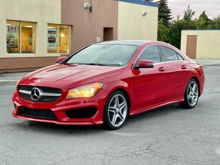 Used 2014 Mercedes-Benz CLA-Class CLA 250 AWD AMG LEATHER /PANORAMIC SUNROOF/CAMERA for sale in North York, ON