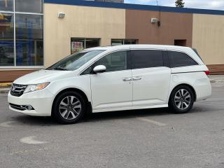 Used 2014 Honda Odyssey Touring Navigation /Sunroof /DVD /8 Pass for sale in North York, ON