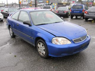 Used 2000 Honda Civic DX for sale in Vancouver, BC