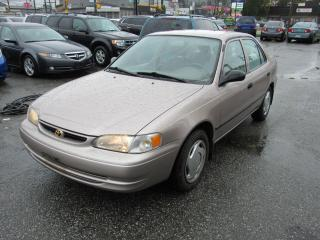 Used 2000 Toyota Corolla VE for sale in Vancouver, BC