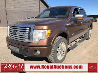 Used 2012 Ford F-150 PLATINUM for sale in Calgary, AB