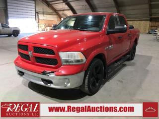 Used 2017 RAM 1500 OUTDOORSMAN for sale in Calgary, AB