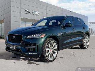 Used 2018 Jaguar F-PACE R-Sport * October Special Offer * for sale in Winnipeg, MB