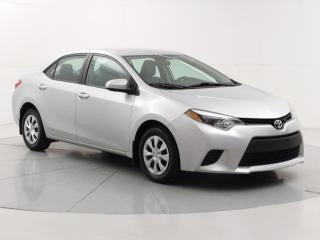 Used 2015 Toyota Corolla CE | Locally Owned & Serviced | Bluetooth Connectivity | Power Group | Air Conditioning | for sale in Winnipeg, MB