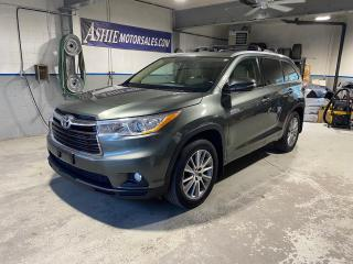 Used 2015 Toyota Highlander AWD 4DR XLE for sale in Kingston, ON