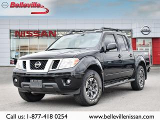 Used 2018 Nissan Frontier PRO-4X  LUXURY 1 OWNER LOCAL TRADE for sale in Belleville, ON