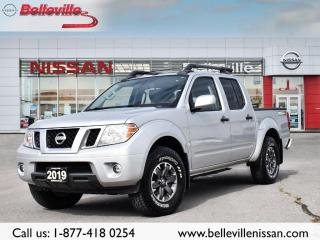 Used 2019 Nissan Frontier PRO-4X  LUXURY 1 OWNER LOCAL TRADE for sale in Belleville, ON