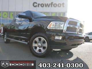 Used 2014 RAM 3500 LONGHORN LIMITED MEGACAB 4X4 for sale in Calgary, AB
