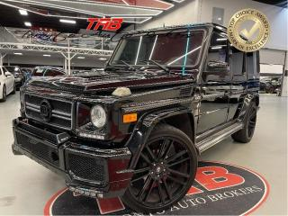Used 2013 Mercedes-Benz G-Class G550 I BODY KIT I 24 IN WHEELS I COMING SOON for sale in Vaughan, ON
