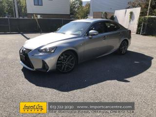 Used 2018 Lexus IS 300 F2 PKG  LEATHER  ROOF  NAVI  BLIS  HEATED & VENTIL for sale in Ottawa, ON