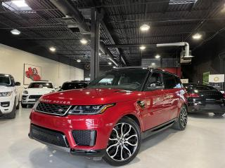 Used 2019 Land Rover Range Rover Sport Td6 HSE !! 360CAM !! MERIDIAN !! HEAD UP DISPLAY ! for sale in North York, ON