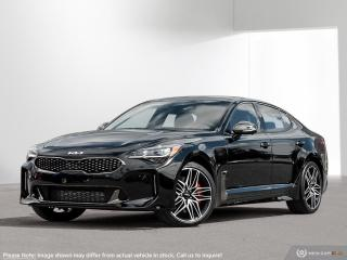 New 2022 Kia Stinger GT Elite - Suede Package for sale in Kitchener, ON