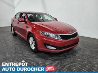 Used 2013 Kia Optima LX Climatiseur - Sièges chauffants for sale in Laval, QC