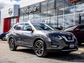 Used 2018 Nissan Rogue SL AWD Navi Blind Spot Apple Carplay Remote Start for sale in Maple, ON