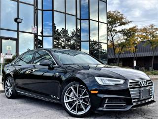 Used 2018 Audi A4 PROGRESSIVE|REAR VIEW|S-LINE|SUNROOF|VENTED SEATS| for sale in Brampton, ON