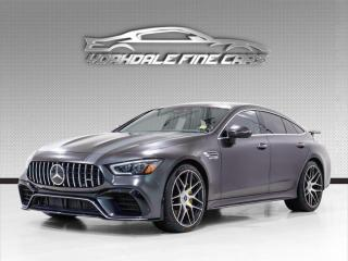 Used 2019 Mercedes-Benz AMG GT 63 S 4-Door Coupe *Edition 1* Fully Loaded for sale in Concord, ON
