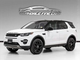 Used 2017 Land Rover Discovery Sport AWD Sport SE, Navigation, Camera, Panoramic Roof. for sale in Concord, ON