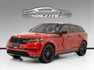 Used 2019 Land Rover Range Rover Velar S P380 Navigation, Panoramic, Camera, No Accidents for sale in Concord, ON