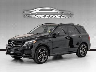 Used 2018 Mercedes-Benz GLE-Class GLE 400 4MATIC Night Edition, AMG Pkg, Drivers Assistance for sale in Concord, ON