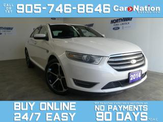 Used 2014 Ford Taurus SEL | AWD | V6 | ROOF | LEATHER | NAV | 20'' RIMS for sale in Brantford, ON