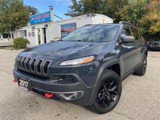 Used 2017 Jeep Cherokee 4WD 4dr TRAIL HAWK, NAVI,BACKUP,PANOROOF for sale in Brampton, ON