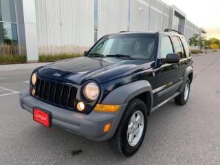 Used 2006 Jeep Liberty 4Dr Sport for sale in Mississauga, ON
