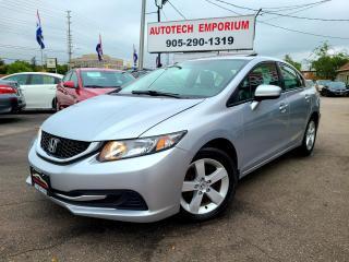 Used 2014 Honda Civic EX Sunroof/Push Start/Alloys/Heated Seats for sale in Mississauga, ON