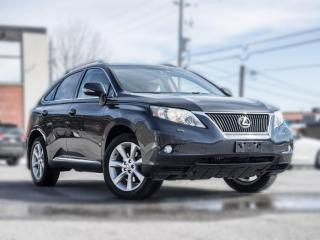 Used 2010 Lexus RX 350 LEATHER|ROOF|BACKUP|HEATED SEATS |LOW KM |CLEAN CARFAX for sale in North York, ON