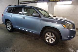 Used 2008 Toyota Highlander V6 SPORT 4WD CERTIFIED 2YR WARRANTY ALLOYS CRUISE ROOF RACK CAMERA 7 PASSENGER for sale in Milton, ON