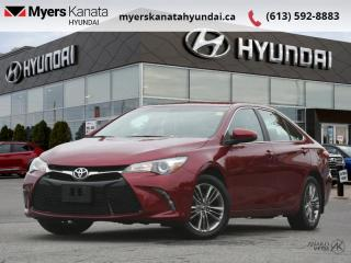 Used 2016 Toyota Camry SE  - $165 B/W - Low Mileage for sale in Kanata, ON
