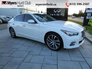 Used 2015 Infiniti Q50 Limited AWD for sale in Ottawa, ON