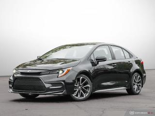 Used 2020 Toyota Corolla SE for sale in Ottawa, ON