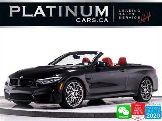 Used 2018 BMW M4 CONVERTIBLE ,444HP , COMPETITION PKG, PDC, HUD for sale in Toronto, ON