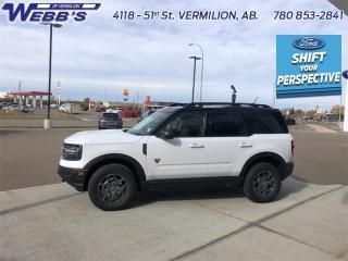 New 2021 Ford Bronco Sport BADLANDS for sale in Vermilion, AB