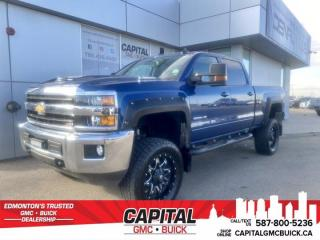 Used 2018 Chevrolet Silverado 3500HD LT Crew Cab * LEATHER * LIFTED * STOCK EXHAUST for sale in Edmonton, AB