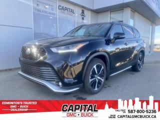 Used 2021 Toyota Highlander XSE AWD * RED TWO TONE LEATHER * 7 PASSENGER * TECH for sale in Edmonton, AB