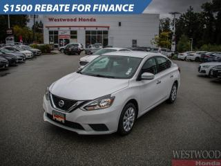 Used 2017 Nissan Sentra S for sale in Port Moody, BC