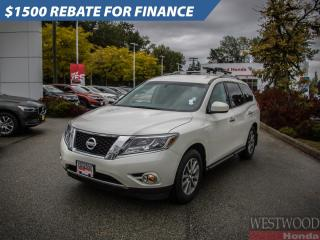 Used 2015 Nissan Pathfinder S for sale in Port Moody, BC