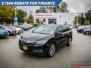 Used 2016 Acura MDX Tech for sale in Port Moody, BC