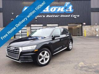 Used 2018 Audi Q5 Progressiv AWD, Leather, Navigation, Sunroof, Heated Wheel + Seats & Much More! for sale in Guelph, ON