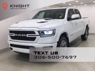 New 2022 RAM 1500 Laramie Sport Crew Cab | Leather | Navigation | for sale in Regina, SK