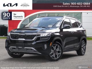 New 2022 Kia Seltos SX Turbo w/Black Interior for sale in Mississauga, ON